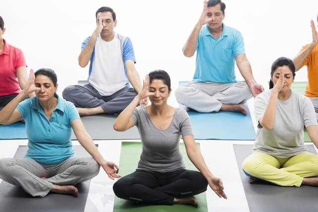 Restart of classes of brething techniques and meditation ...