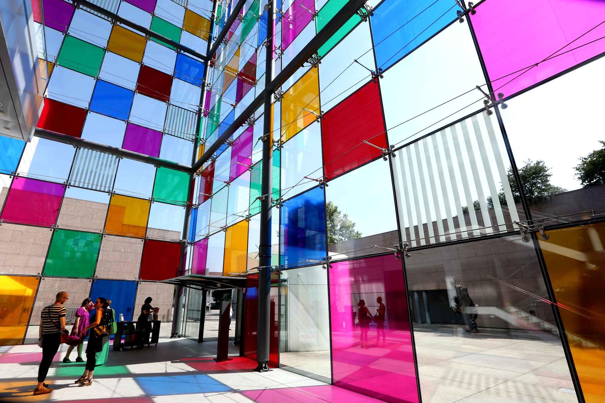 Pr sentation au mus e d art moderne et contemporain de strasbourg amicale du conseil de l 39 europe - Musee d art moderne strasbourg ...